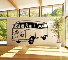 VW T1 Bus Transporter Walltattoo Sticker Decal 80 x 53 cm Tuning JDM