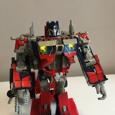 Transformers Leader Class Optimus Prime Figure Hasbro 2007 Lights & Sound Takara