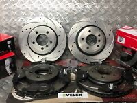 BMW 330CI 330D 330i E46 BREMBO FRONT & REAR DRILLED & GROOVED DISCS & PADS 99-05