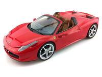 Mattel X5527 X5528 X5530 or X5532 FERRARI 348 TB 458 SPIDER model black red 1:18