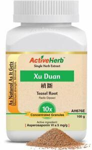 ActiveHerb Teasel Root 10X Extract Granules Xu Duan Dipsacus Asper Tea 100 g