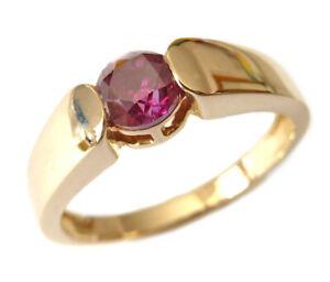 Harry Ivens IV Ring Gelbgold 585 pinker Brillant (beh.)