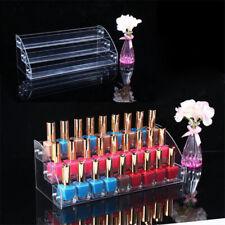 Transparent Jewelry Display Shelf Makeup Organizer Lipstick Nail Polish Rack hot