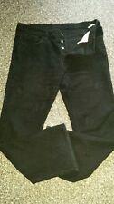 Replay Cotton Indigo, Dark wash Bootcut Jeans for Men