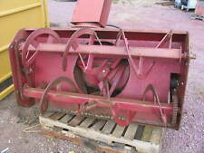 "Schweiss 60"" Snow Blower Tractor 3 Pt. or Skid Loader , Hydraulic Motor"