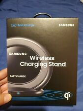 Samsung Fast Charger Wireless Charging Stand/Pad in  Black - EP-NG930