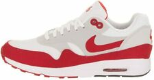 Original Women's Nike Air Max 1 Ultra 2.0 LE White Red Trainers 908489 101