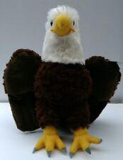 """Wild Republic American Bald Eagle Plush 12"""" Bird Stuffed Animal # 10919 New NWT"""