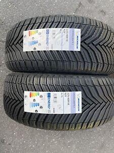 2x 225/40 R18 Michelin CrossClimate 2, 92Y All Season  Brand-New