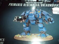 Space Marine Primaris Redemptor Dreadnought Warhammer 40k 40,000 Model New!