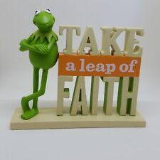 Hallmark Muppets Take A Leap Of Faith Kermit Figurine