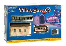 Bachmann On-30  Village Christmas Streetcar Train Set New NIB 25017