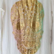Lauren Moshi  Foil Diamond Skull