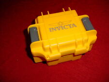 INVICTA HEAVY DUTY WATCH CASE YELLOW EMPTY INTERNAL PADDING & WATCH PAD PROTECT