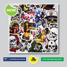 20PCS x Skull Stickers & Sexy Girls Sticker Bomb Decals JDM Car Skate Adult Rude