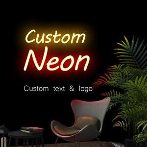 Custom Neon Sign Light Tiki Bar Home Room Wall Hanging Real Glass Tube Artwrok