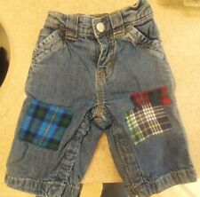 Baby Gap Infant 3 - 6 Months Jean Shorts Pants Snaps lined great shorts!