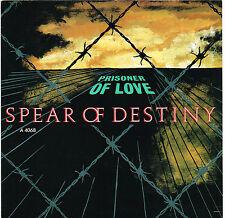 SPEAR OF DESTINY prisoner of love U.K. burning rome 45RPM_1983 near mint