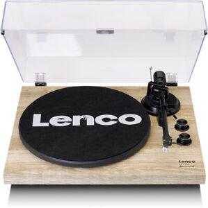 Lenco LBT-188 Bluetooth Plattenspieler mit USB Kiefer Riemenantrieb USB 5Watt