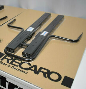 Genuine Recaro Double Locking Runners sliders rails no tabs Single (for 1 seat)
