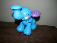Fisher-Price Amazing Animals Blue Elephant Clicker Toy 5""