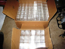 155 Clear Plastic Boxes with Lids NEW!
