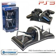 PS3 NEW LED Dual Controller Charger Dock Station Stand Charging for Playstation