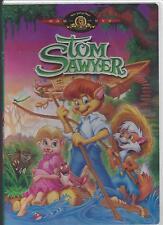 TOM SAWYER MGM Kids Animated Voices Waylon Jennings Hank  Jr.Betty White NEW DVD