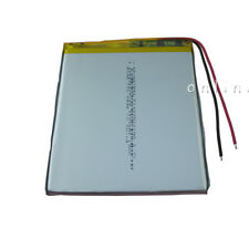 Rechargeable Polymer Li ion Lipo battery 3.7V 3500 mAh for GPS Tablet PC 447892