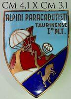 "Alpini I° Plotone Paracadutisti Taurinense distintivo produttore Lorioli ""1798"""