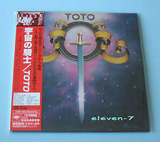 TOTO S/T SAME JAPAN MINI LP CD DSD masterizzazione still sealed & Brand New