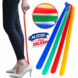 Shoe Helper Easy Sturdy Shoe Horn Newly Long Plastic Handle Slip Aid Shoehorn