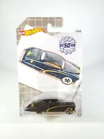 Hot Wheels 2019 Walmart Larry Wood 50th Series 1/10 Purple Passion Black NEW NOC