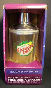 CANADA DRY Holiday Drink Shaker - Bar Drink Shaker - Advertising