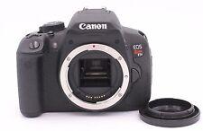 Canon EOS Rebel T5i / eos 700D 18.0 MP Digital SLR Camera - Shutter Count: 382