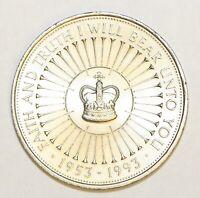 1993 Elizabeth II Commemorative £5 Coronation Jubilee Extremely Fine Condition