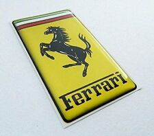 FERRARI BADGE/EMBLEM PLASTIC SELF ADHESIVE