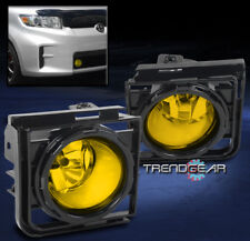 2011-2015 SCION XB FRONT BUMPER YELLOW FOG LIGHT LAMP KIT W/COVER+WIRING HARNESS