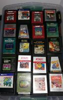 Atari 2600 Pick Your Favorites Of Over 200 Video Games Cartridge Only Working