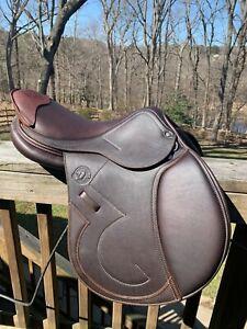 Antares Signature Calfskin Jumping/close contact saddle