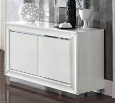 Anrichte Sideboard Wohnzimmer Buffet Weiß Hochglanz Moderne Italienische  Möbel