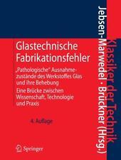 Glastechnische Fabrikationsfehler (2010, Gebundene Ausgabe)