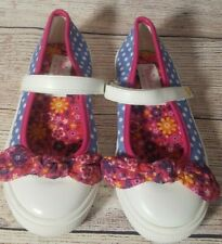 American Girl Wellie Wishers Girl's Kendall Mary Jane Sneakers Size 12 Dots