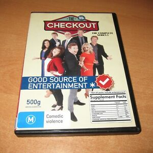 THE CHECKOUT - COMPLETE SERIES 1 ( DVD , 2 DISC SET REGION 4 ) LIKE NEW