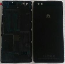 Coque Arrière Couvercle de boîtier batterie Cadre Noir Huawei Ascend P8 Lite