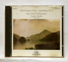 ZUBIN MEHTA - KNOWLES PAINE symphony no.2 NEW WORLD RECORDS CD NM