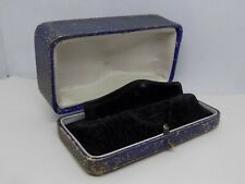 ANTIQUE JEWELLERY/WATCH DISPLAY BOX. SMALL LADIES WATCH BOX. (NCB)