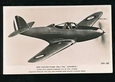 Aircraft Air Force Military RAF BELL P39 AIRCOBRA Fighter Plane RP PPC