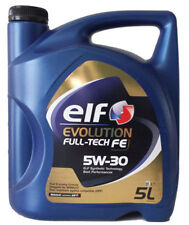 2 x ELF EVOLUTION FULL TECH FE Sintético SAE 5W30 C4 Aceite de Motor 5L ELF 10L