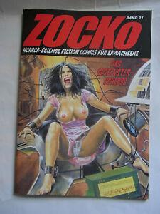Zacko Zocko 31 Comic für Erwachsene Horror-SciFi Fumetti Neri Mila-Verlag Sun 5